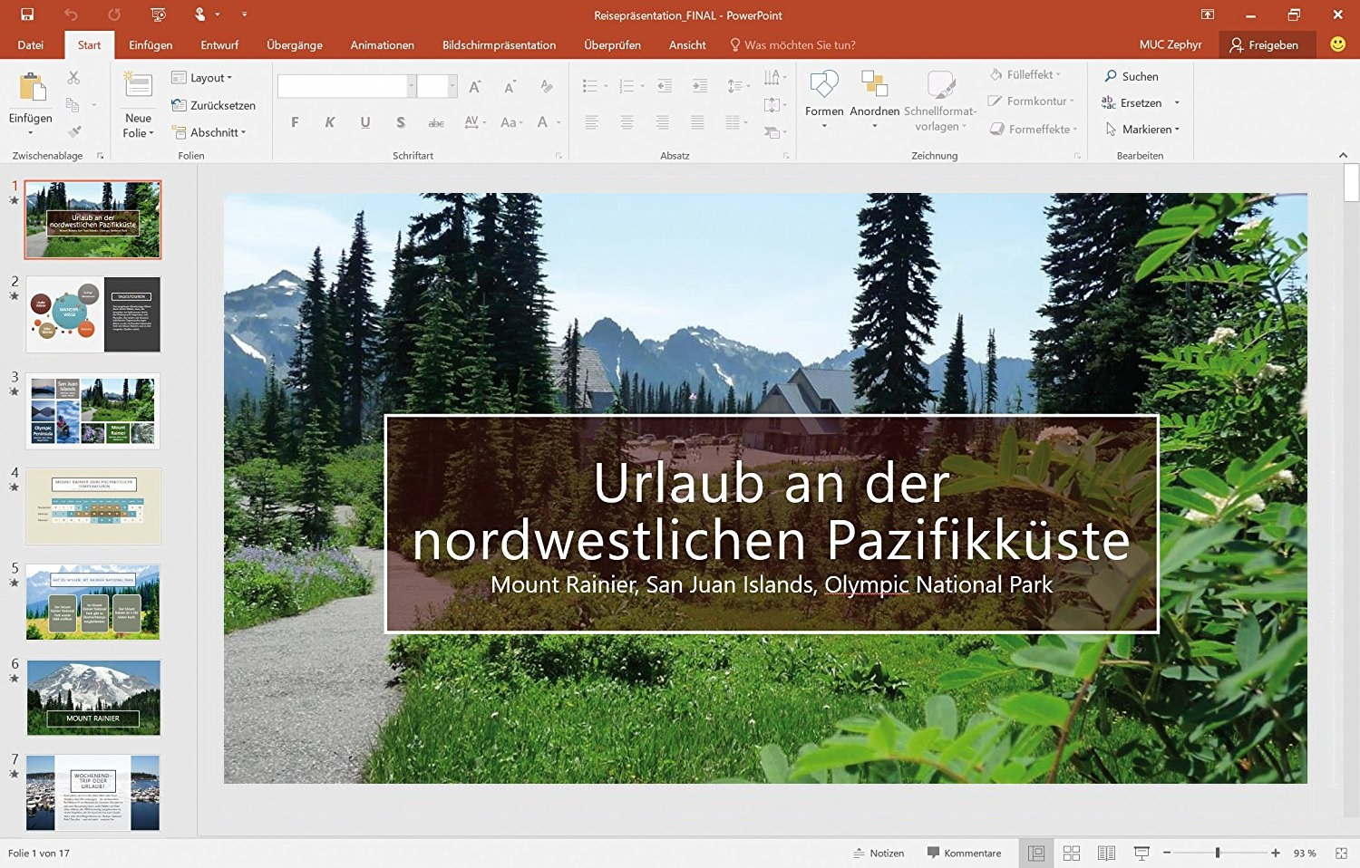 screenshot microsoft powerpoint 2016 ms office. Black Bedroom Furniture Sets. Home Design Ideas