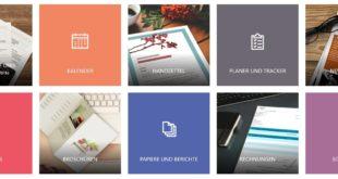 Microsoft Office Vorlagen und Designs zum Download