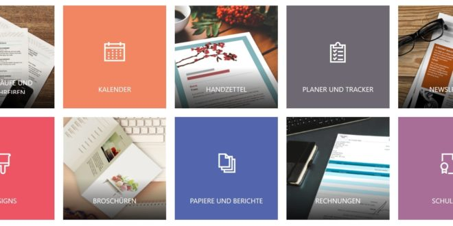 Microsoft Office Vorlagen und Designs zum Download