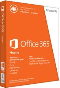 Microsoft Office 365 Home Versionen vergleichen und kaufen