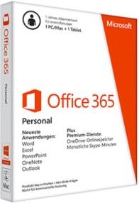 Microsoft Office 365 Personal Versionen vergleichen und kaufen